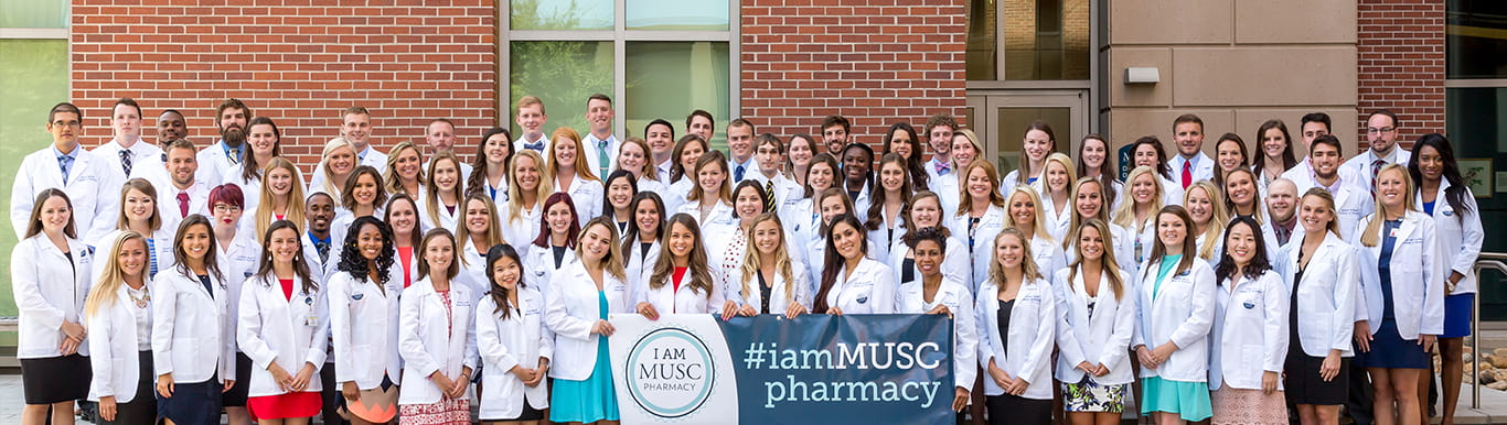 MUSC Pharmacy students