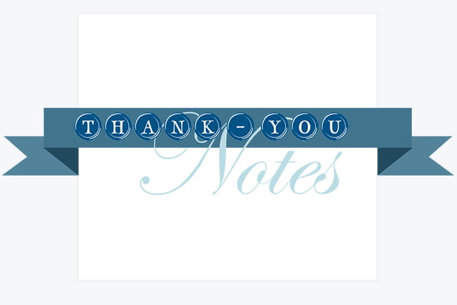 Thank-You Notes